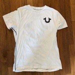 True Religion White T-shirt